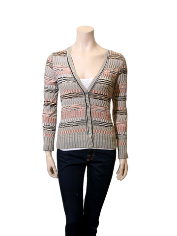 Missoni Printed Knit Cardigan