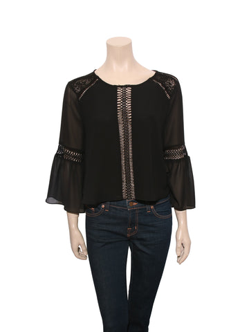 Tularosa Lace Detail Top