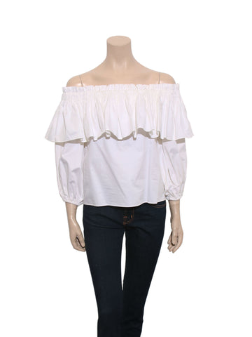 Alexis Off-The-Shoulder Ruffle Top