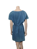 Tularosa Denim Wrap Dress