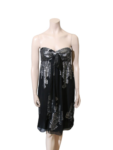 Nicole Miller Strapless Dress