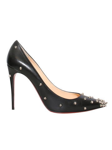 Christian Louboutin Degraspike Leather Pumps