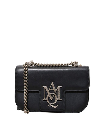 Alexander McQueen Leather Insignia Flap Bag