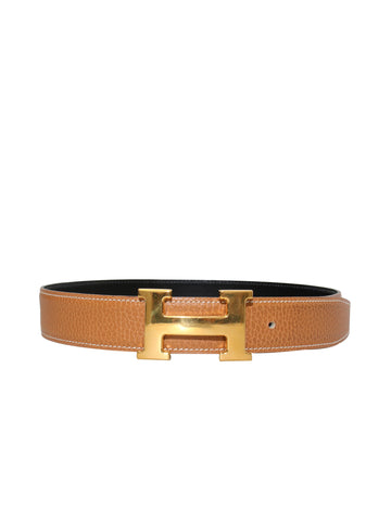 Hermes Hermes Reversible Leather Waist Belt