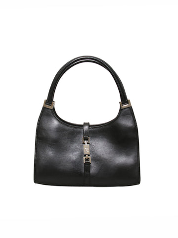 Gucci Leather Jackie Bardot Bag