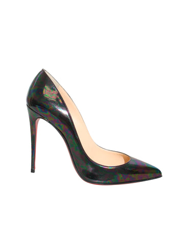 Christian Louboutin Pigalle Follies Iridescent Pumps