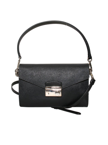 Prada Saffiano Lux Sound Cross Body Bag