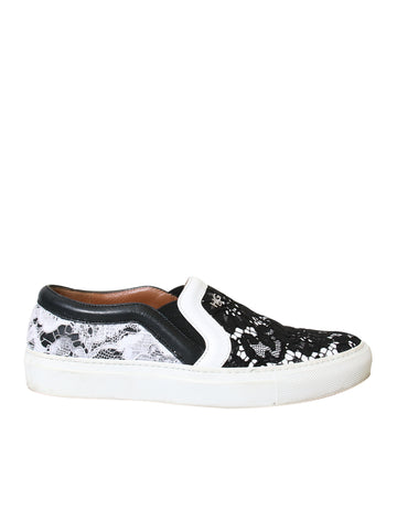 Givenchy Skate Basse Lace Slip-On Sneakers