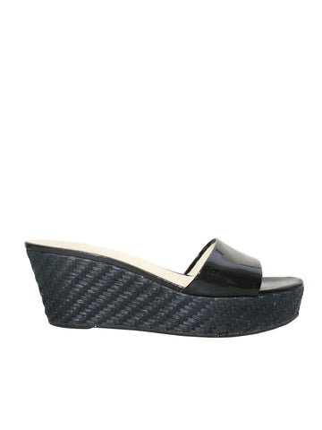 Prada Wedge Slide Sandals