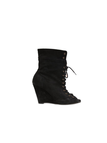 Joie Lace-Up Booties