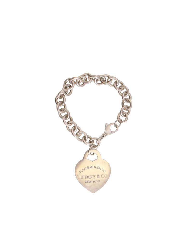 Tiffany & Co. Large Heart Tag Bracelet