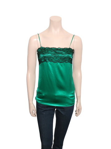 D&G Silk Lace-Trim Cami