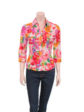 D&G Floral Button-Up Blouse
