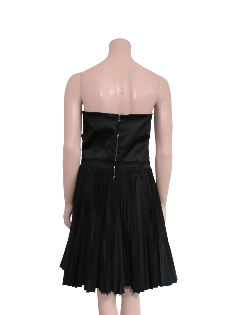 D&G Strapless Pleated Dress