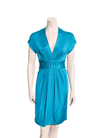 Alberta Ferretti Philosophy Wrap-Front Dress