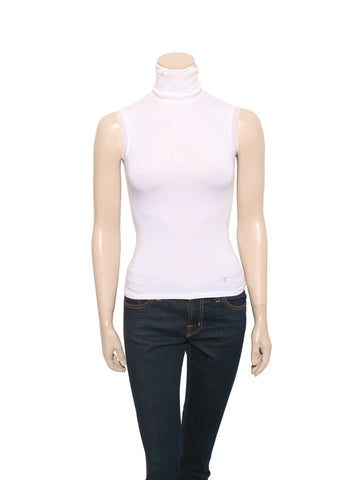 Chanel Sleeveless Turtleneck