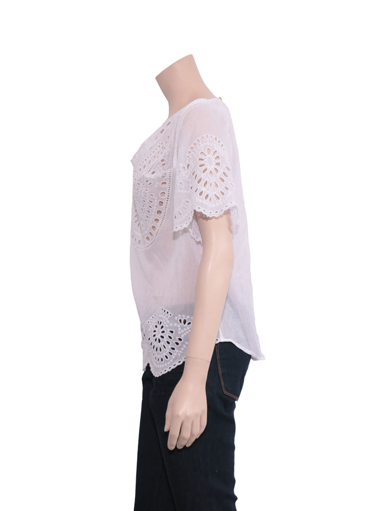 Isabel Marant Eyelet Top
