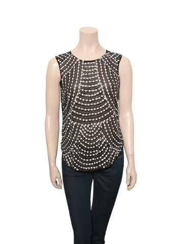 Parker Beaded Top