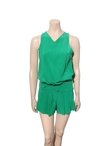 Neil Barrett Silk Romper