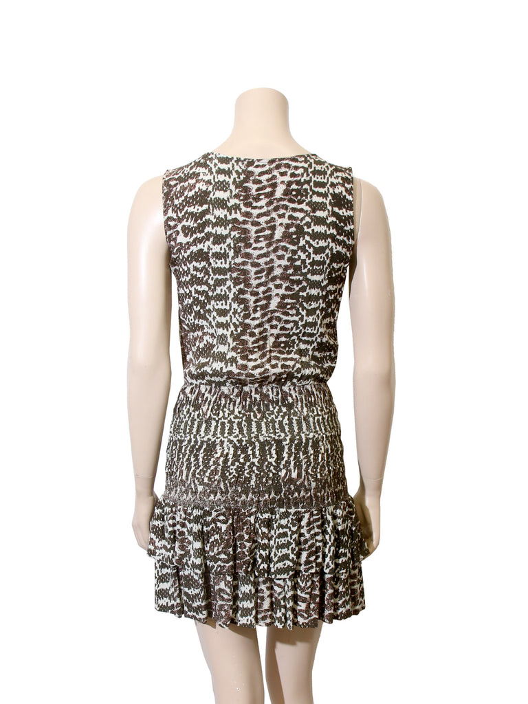 Maje Printed Dress