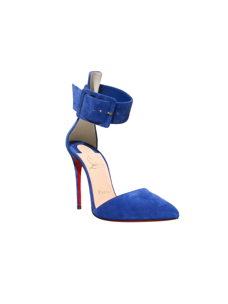 Christian Louboutin Harler 100 Suede Pumps