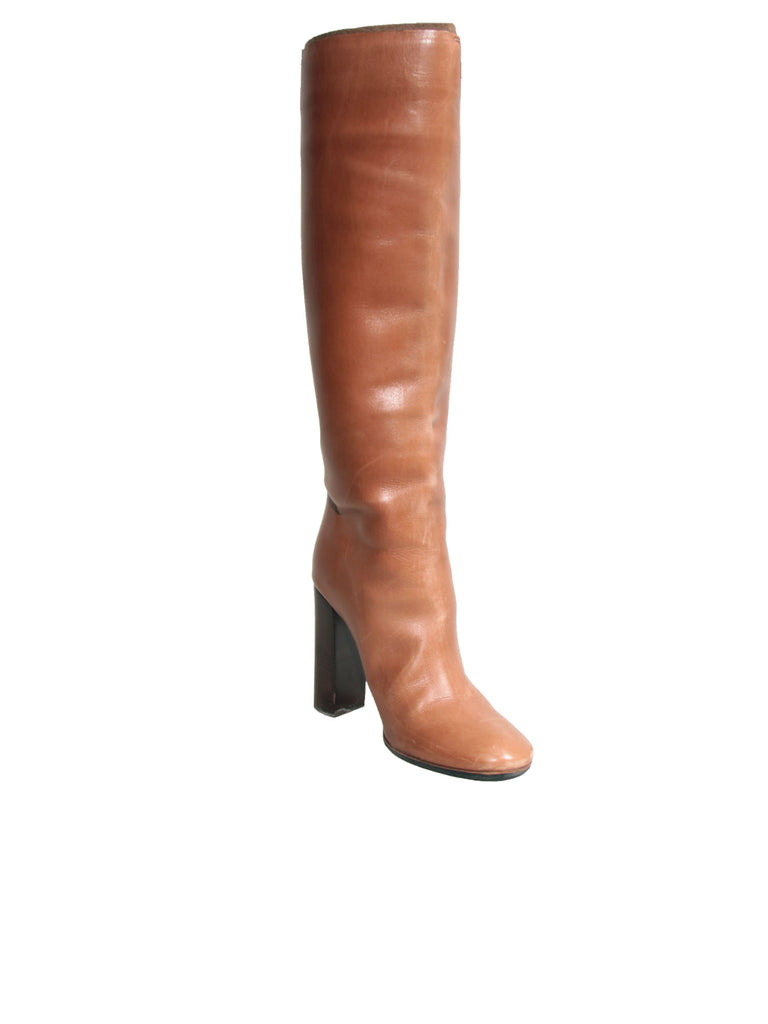 Chloe Knee-High Leather Boots
