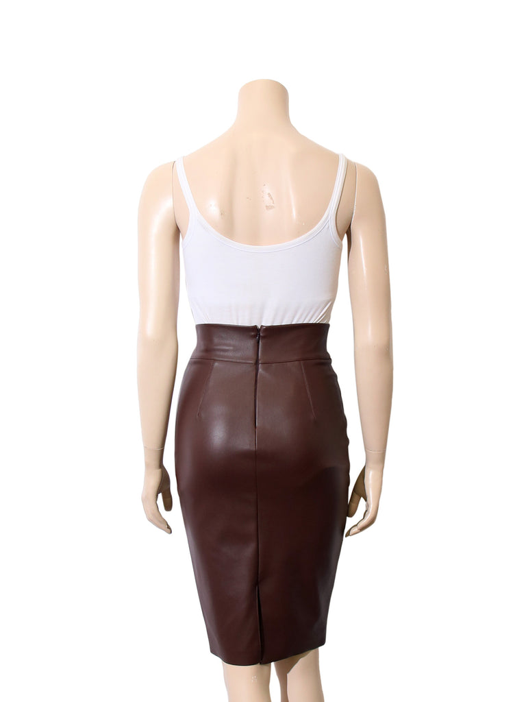 Bailey 44 Faux-Leather Pencil Skirt