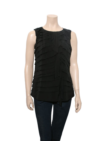 Tory Burch Sleeveless Silk Top