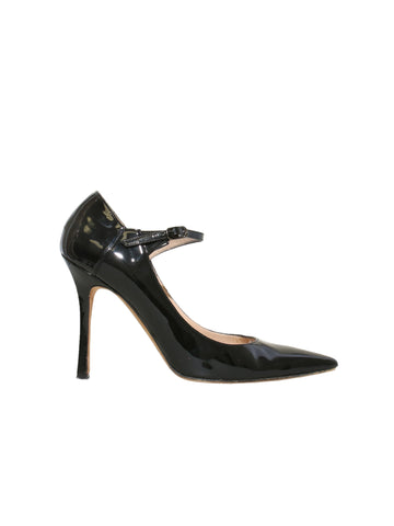 Manolo Blahnik Patent Leather Pointed Pumps