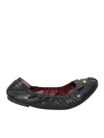 Marc by Marc Jacobs Ballet Leather Cat Flats