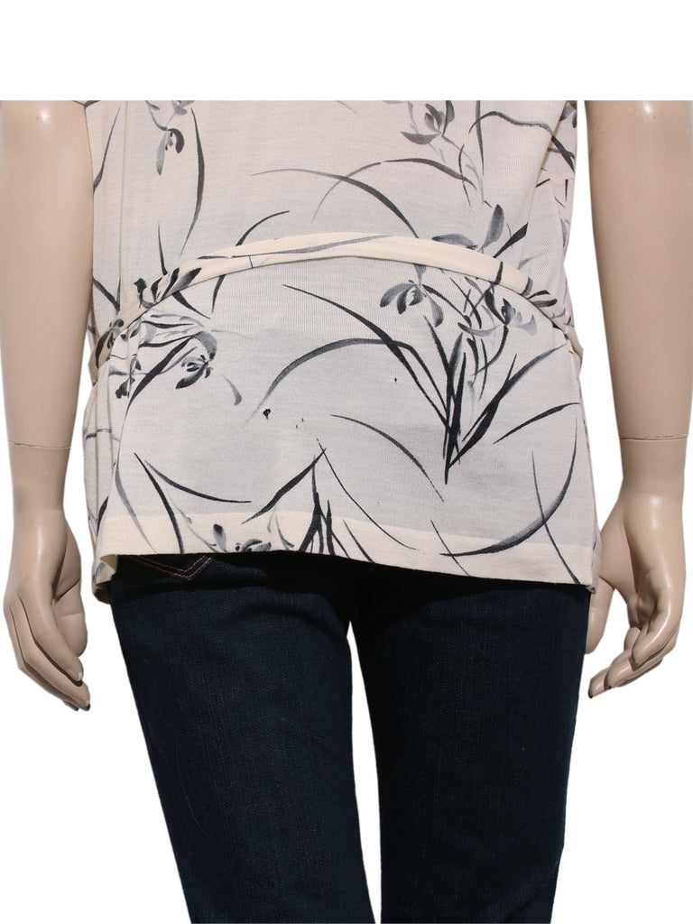 Christian Dior Printed Knit Top