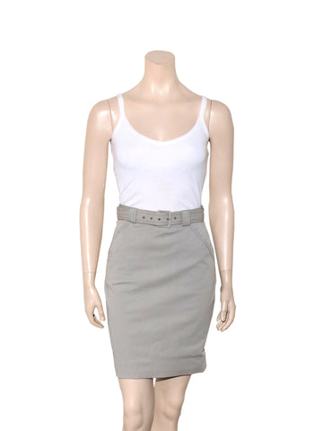 Proenza Schouler Cotton Pencil Skirt