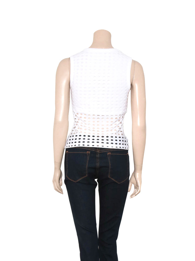 Alexander Wang Perforated Top