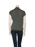 Brunello Cucinelli Cashmere Wrap Top