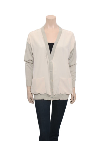 Chloe Silk and Cashmere Cardigan