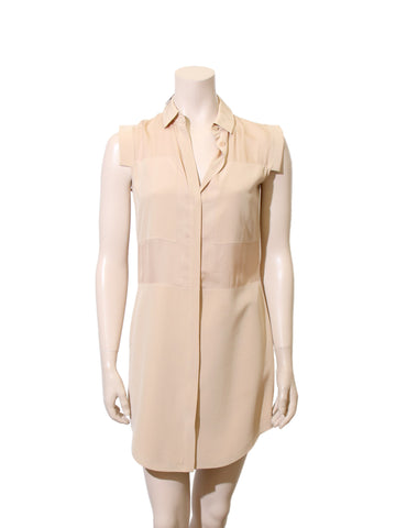 Alexander Wang Silk Shirt Dress