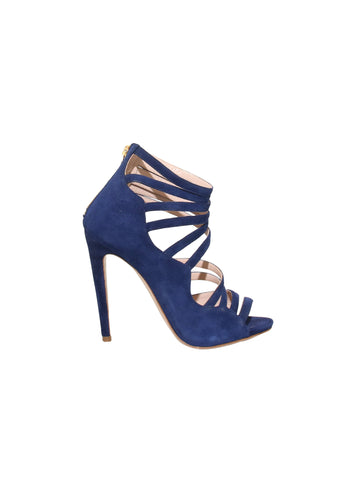 Miu Miu Suede Strappy Sandals