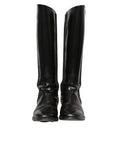 Givenchy Chain-Link Knee-High Boots