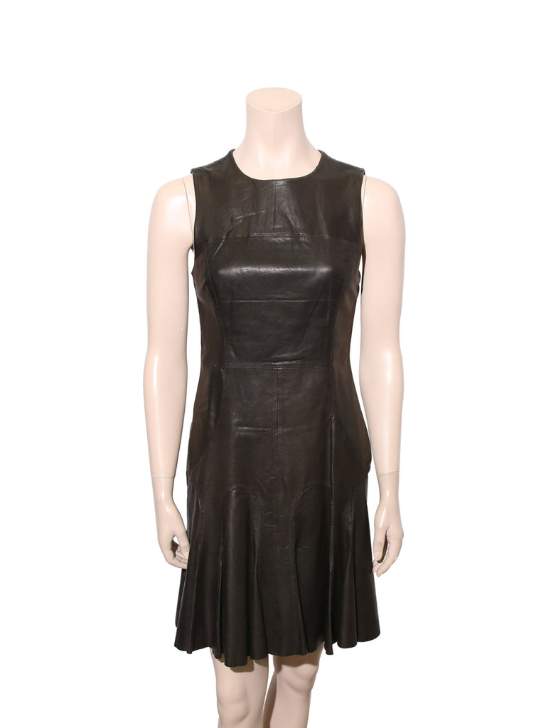Derek Lam Leather Dress