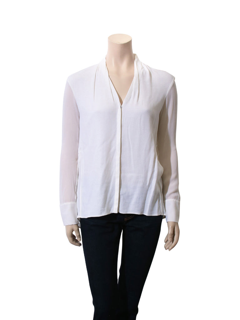 Helmut Lang Button-Up Blouse