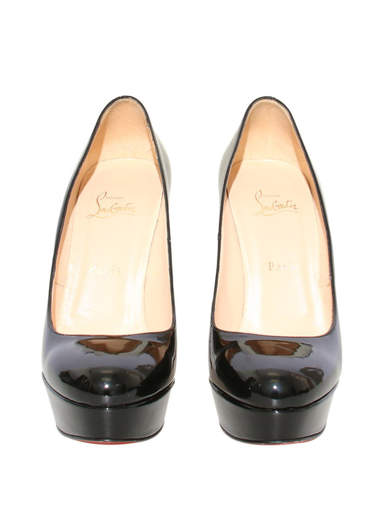 Christian Louboutin Bianca Patent Leather Pumps