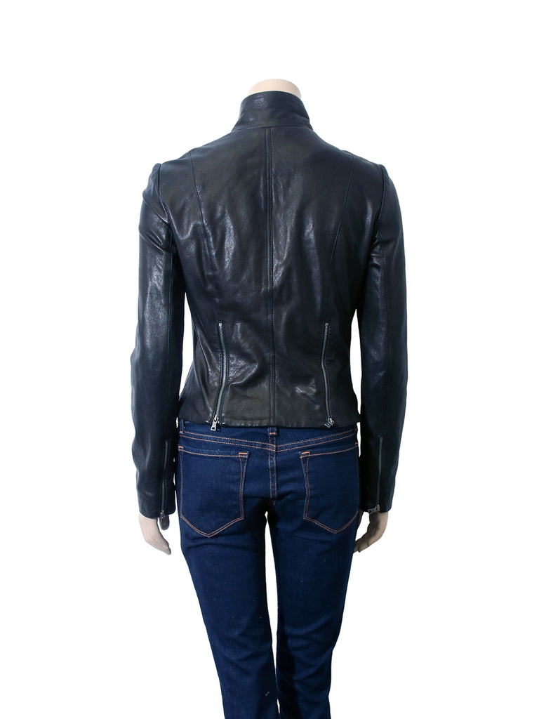 DVF Patisserie Leather Jacket