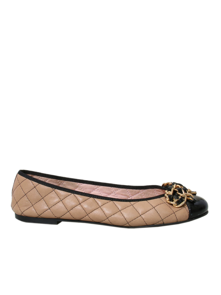 Pretty Ballerinas Quilted Leather Flats
