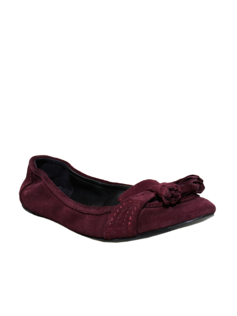 Burberry Suede Flats