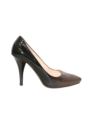 Prada Patent Leather Ombré Pumps