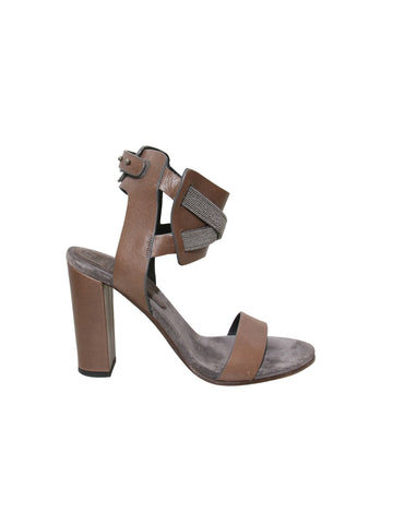 Brunello Cucinelli Monili-Accented Sandals