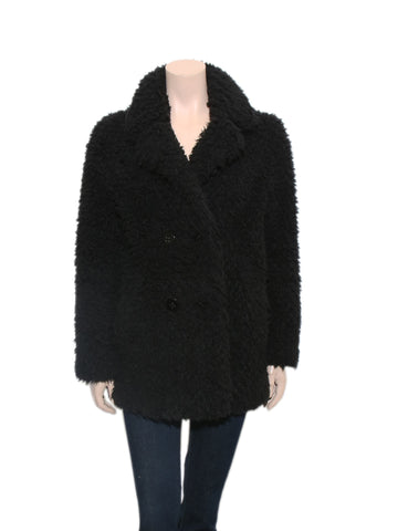 Sandro Teddy Bear Coat