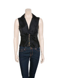 Versace Vintage Silk Sleeveless Top