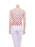 Miu Miu Polka Dot Top