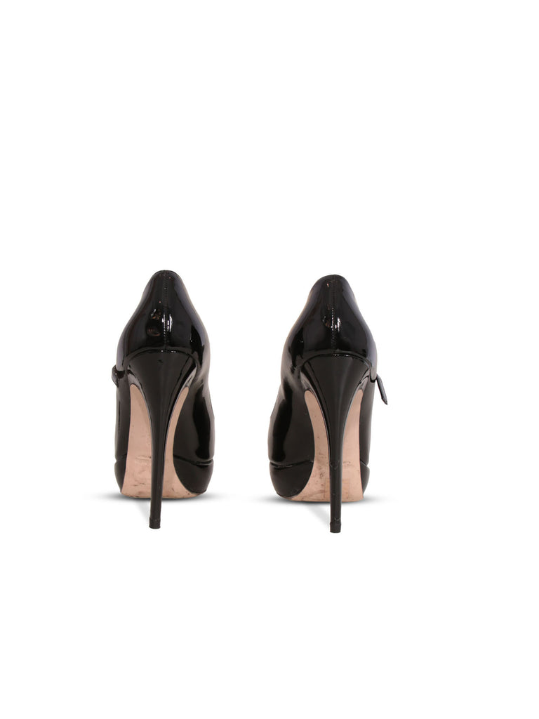 Miu Miu Patent Mary Jane Pumps